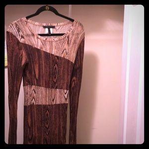 Bcbg Cute form fitting dress.